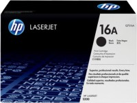 HP 16A Q7516A LaserJet Pro Single Color Toner(Black)