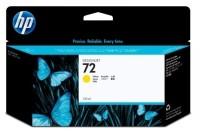 HP 72 130-ml Yellow Ink Cartridge(Yellow)