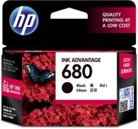 HP 680 Single Color Ink Cartridge(Black)