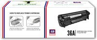 AB CARTRIDGE Compatible 36A / CB436A Cartridge - For Use in HP LaserJet P1505, M1120n MFP, M1522n MFP, M1522nf MFP Black Ink Toner