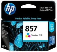 HP 857 Tricolor Ink Cartridge(Black, Magenta, Cyan, Yellow)