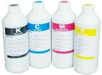 Max Canon Pigamented 4*1000ml Ink Set of Multi Color Ink(Black, Magenta, Cyan, Yellow)