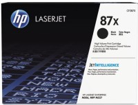 HP 87x CF287XC Single Color Toner(Black)