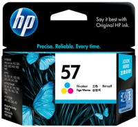 HP 57 Tricolor Ink Cartridge(Black, Magenta, Cyan, Yellow)