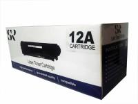 SR Toners Q2612A Single Color Toner(Black)