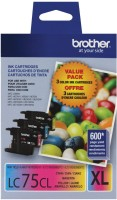 Brother Jet Series Multi Color Ink(Magenta, Cyan, Yellow)