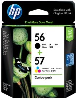 HP 56/57 Combo-pack Ink Cartridges(Black, Magenta, Cyan, Yellow)