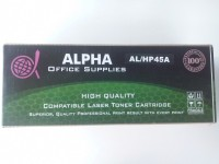 Alpha Corporation HP 45A Black / Q5945A Single Color Toner(Black)