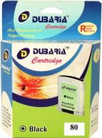 Dubaria 80 / C4871A Cartridge - HP Compatible For Use In Designjet 1050c Plus Printer ,1055 , 1000 , 1050c , 1055 Single Color Ink(Black)
