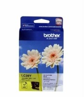 Brother LC 39Y Ink cartridge(Yellow)