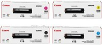 Canon Canon 416 Toner Cartridge Multi Color Toner(Black, Magenta, Cyan, Yellow)