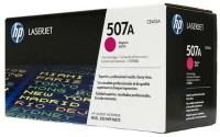 HP 507A CE403A Laserjet Pro Single Color Toner(Magenta)