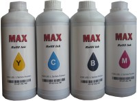 Max 4*1000ML Set For Brother Printer Multi Color Ink(Black, Magenta, Cyan, Yellow)