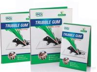 Trouble Gum 3 PIECE MOUSE GLUE PAD KILL RAT & MOUSE WITHOUT POISONS(3 x 100 g)
