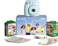 Fujifilm Instax Mini 8 - Bundle Pack Instant Camera(Blue)