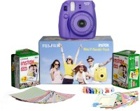 Fujifilm Instax Mini 8 - Bundle Pack Instant Camera(Purple)