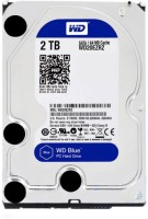 WD Blue 2 TB Desktop Internal Hard Disk Drive (20ezrz)
