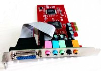 Wiretech Express 5.1 Channel PCIE Internal Sound Card