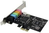 Tech Gear PCI Express X1 5.1 PC PCI Internal Sound Card(5.1 Audio Channel)