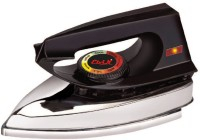 View Elvin Supreme Heavy Weight Electric 750 W Dry Iron(Black) Home Appliances Price Online(Elvin)