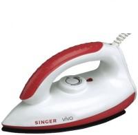 Singer Viva SDI100VBT 1000 W Dry Iron(White & Red)