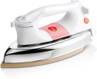 Pigeon Gale 1000 W Dry Iron(White, Gold)