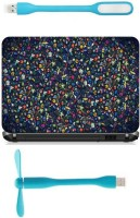 View Print Shapes abstract waste material Combo Set(Multicolor) Laptop Accessories Price Online(Print Shapes)