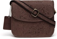 WildHorn Sling Bag(Brown)