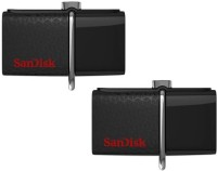 SanDisk Ultra Dual PD Combo 32 GB Pen Drive(Black)