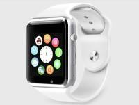 HealthMax HMS01-WH phone Smartwatch(White Strap, Regular)