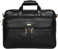 Scharf Messenger Bag(Black, 15 inch)