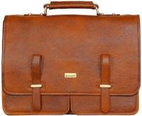 Scharf Messenger Bag(Tan, 17 inch)
