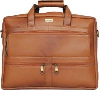 Scharf Messenger Bag(Tan, 15 inch)