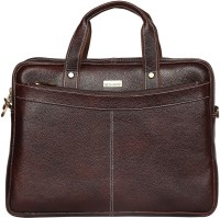 Scharf Messenger Bag(Brown, 16 inch)