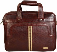 Scharf Messenger Bag(Brown, 17 inch)