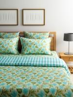 Turu India Sea Breeze Cotton Bedding Set(Multicolor)
