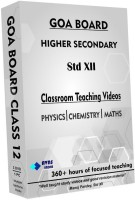 AVNS INDIA Goa Board Class 12 - Combo Pack - Physics, Chemistry and Maths Full Syllabus Teaching Video (DVD)(DVD)