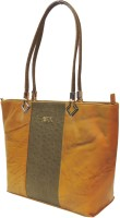 Mex Shoulder Bag(Beige, Brown)