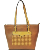 Mex Shoulder Bag(Brown, Yellow)