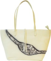 Mex Shoulder Bag(Beige, Black)