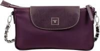 Bulchee Women Maroon Nylon Sling Bag