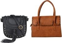 Lychee Bags Women Black, Red PU Sling Bag