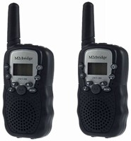 View M2cbridge Kids Walkie Talkies 22 Channel 5km-10km 402-467MHz Portable 2 Way Radio Toy 3131 Walkie Talkie(Black) Home Appliances Price Online(M2cbridge)