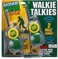 View Backyard Safari Walkie Talkies 2456604 Walkie Talkie(Multicolor) Home Appliances Price Online(Backyard Safari)