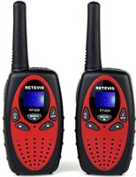 View Retevis Kids Walkie Talkies 22 Channel FRS/GMRS UHF 462.550- 467.7125MHz Portable 2 Way Radio Toy for Children RT628 Walkie Talkie(Red) Home Appliances Price Online(Retevis)