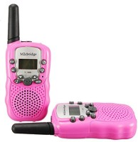 View M2cbridge Kids Walkie Talkies Portable 2 Way Radio Toy 22 Channel 402-467MHz 163456 Walkie Talkie(Pink) Home Appliances Price Online(M2cbridge)