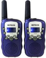 View Retevis Two Way Radio UHF 462.5625-467.7250MHz 22CH Kids Walkie Talkie with Flashlight RT-388 Walkie Talkie(Blue) Home Appliances Price Online(Retevis)