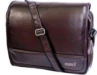 View Widnes 15 inch Laptop Messenger Bag(Brown) Laptop Accessories Price Online(Widnes)