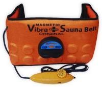 J&D Sales Vibrating 3 In 1 Sauna Slimming Belt(Orange) - Price 499 80 % Off
