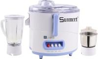 Sunmeet Sunmeet JMG 450 W Juicer Mixer Grinder(White, 2 Jars)